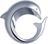 Decorative parts (optical quality parts or chromed) Dolphin